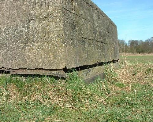 Outside View Of The Observation Post Viewing Slit