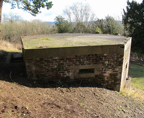 North Downs Way Shellproof Type 24 Pillbox
