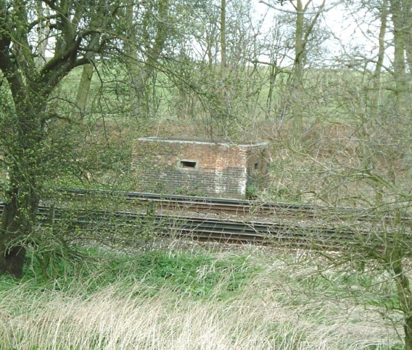 Type 26 Potbridge Hampshire part of GHQ Line A railblock on the main London to Bournemouth  railway line