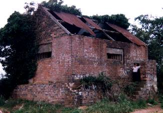 Pillbox Camouflaged To Look Like A House At Raf High Ercall, Shropshire