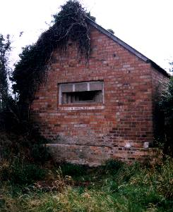 Camouflaged Pillbox At Raf High Ercall, Shropshire.