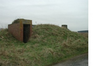 Stanton Air Raid Shelter at Walney Island airfield, Barrow in Furness, South Cumbria by Bob Morris.