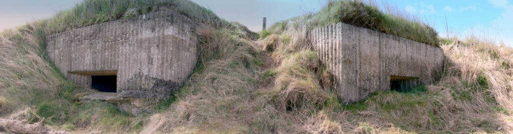 Holy Island Double Pillbox