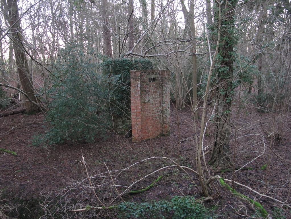 Mill Lane, Tower Pillbox, Crondall, Hampshire.