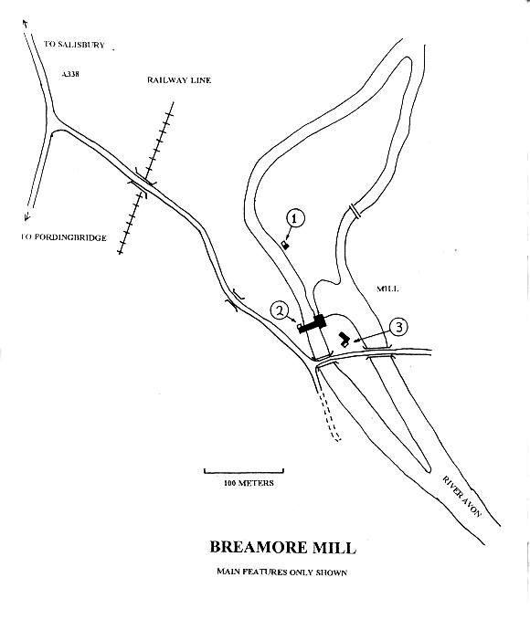 Breamore Mill, River Avon, Ringwood Stopline