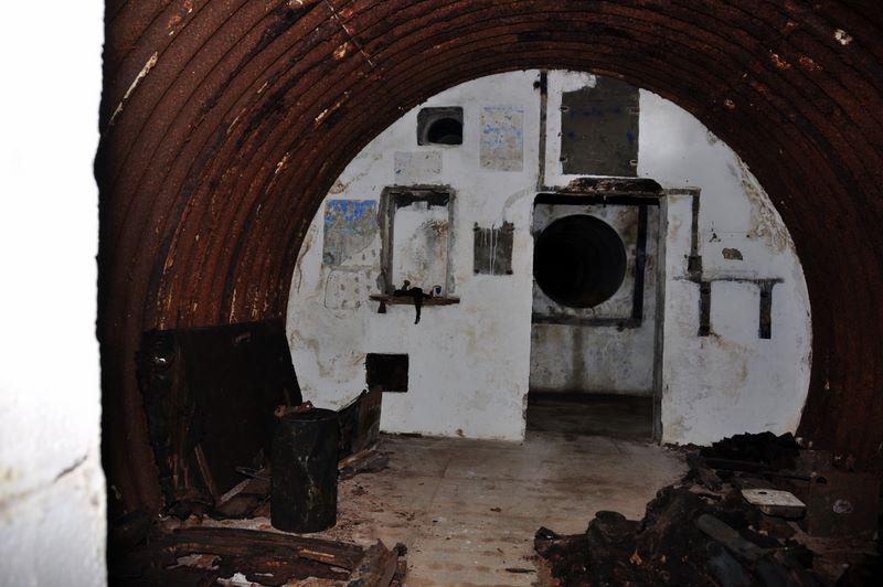 View towards Escape Tunnel