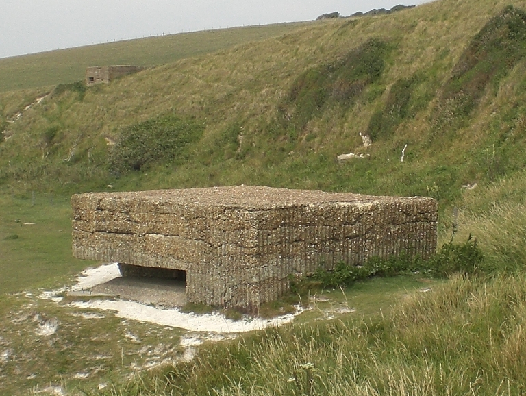 Cuckmere Haven MG Emplacement