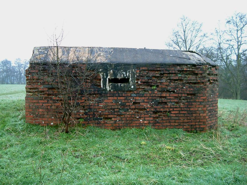 Side view of FW3/28 Infantry Pillbox