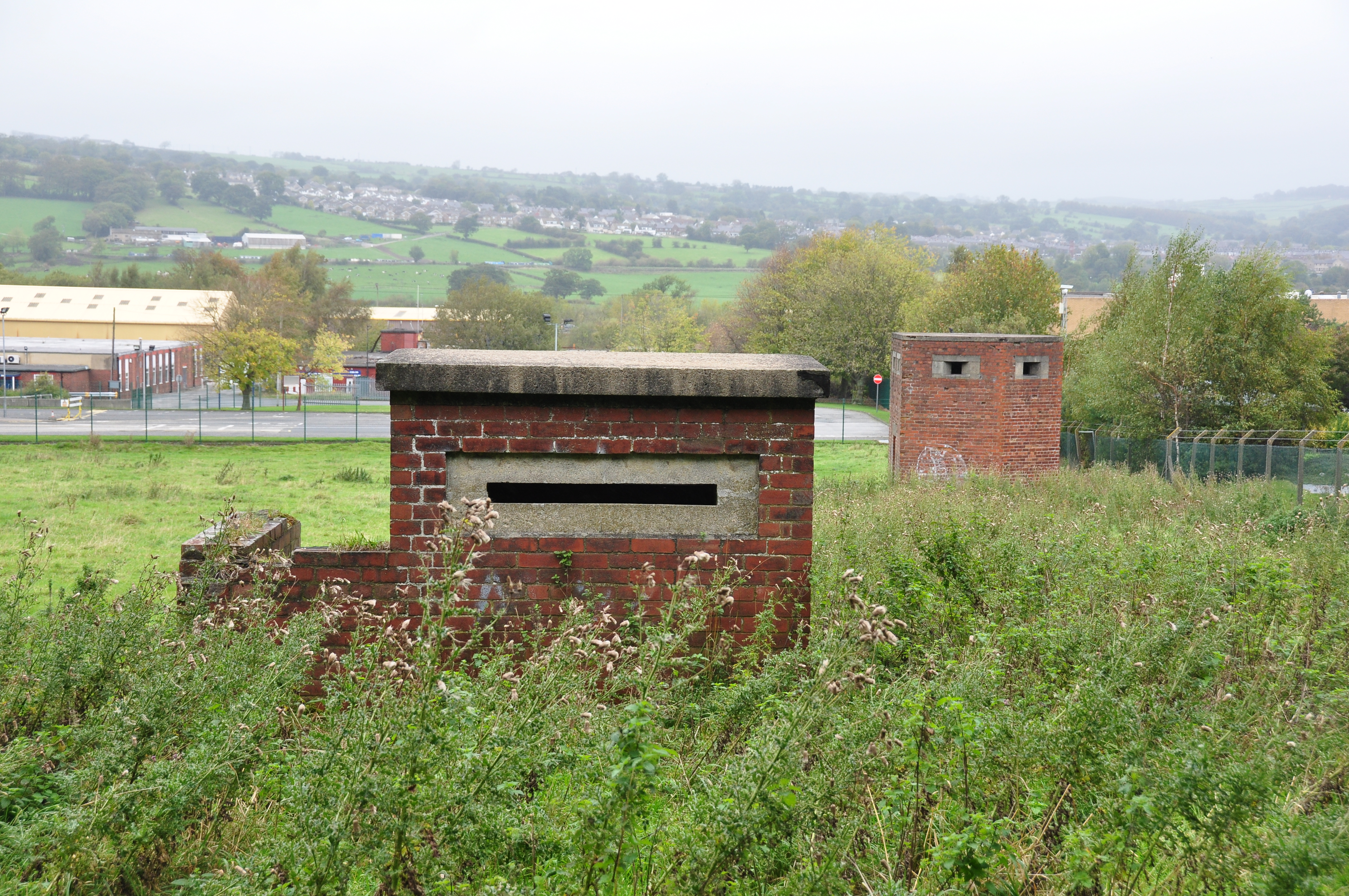 Steeton Dump Pillboxes