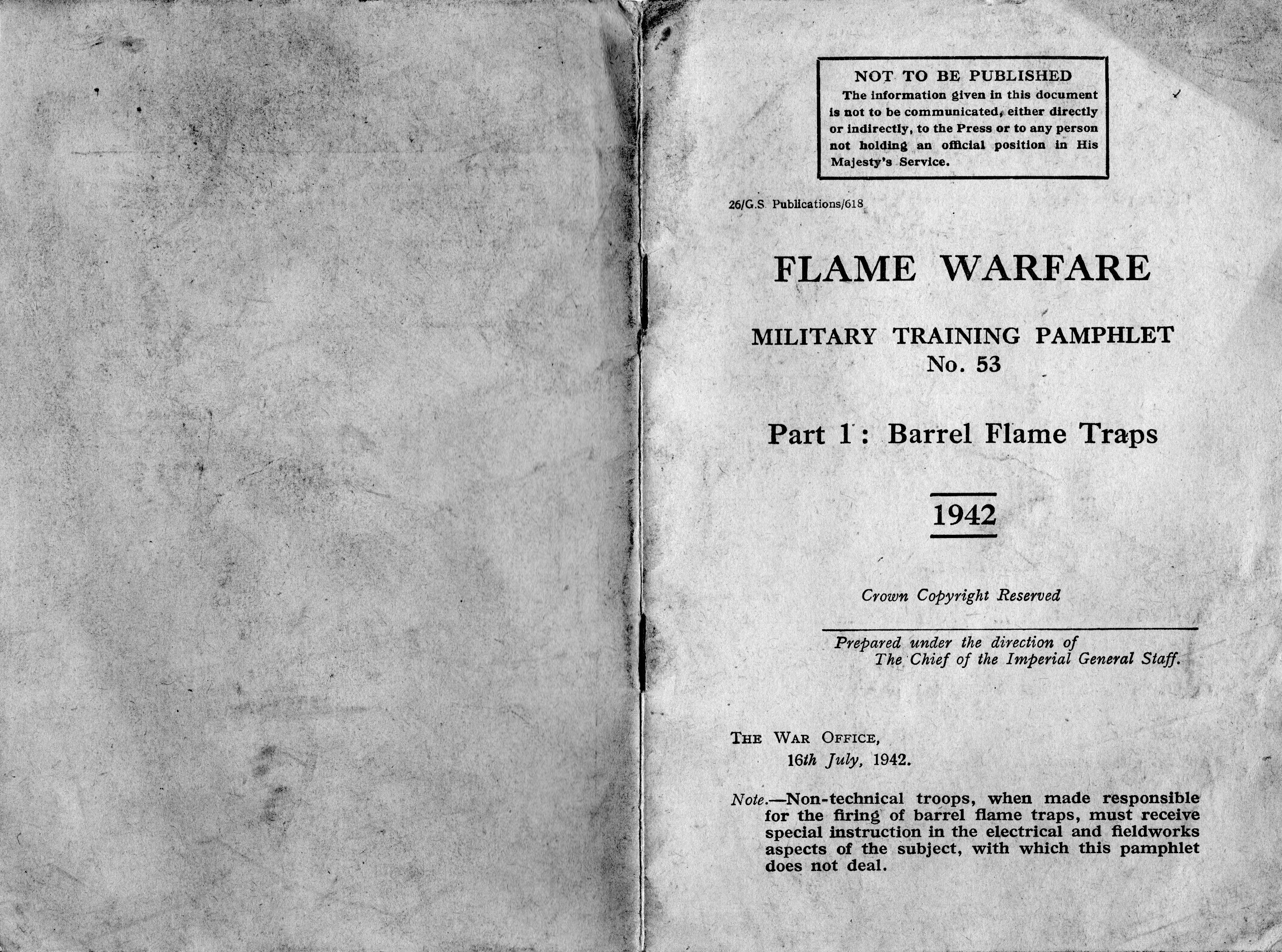 Flame Warfare Pamphlet