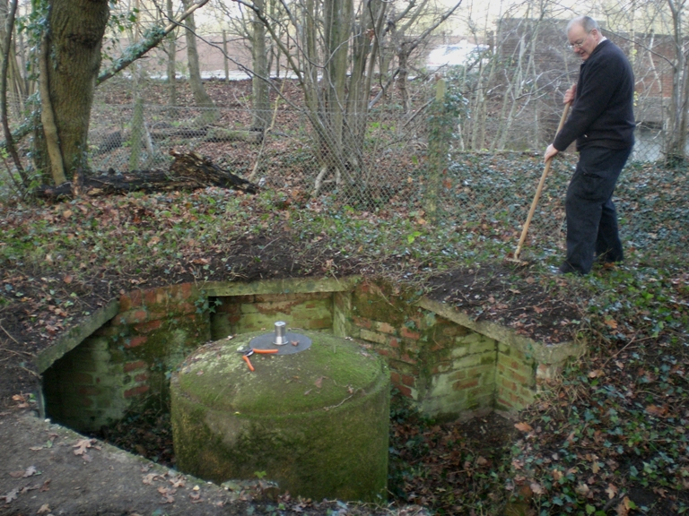 Spigot Mortar Emplacement Rescue Archaeology The Pillbox