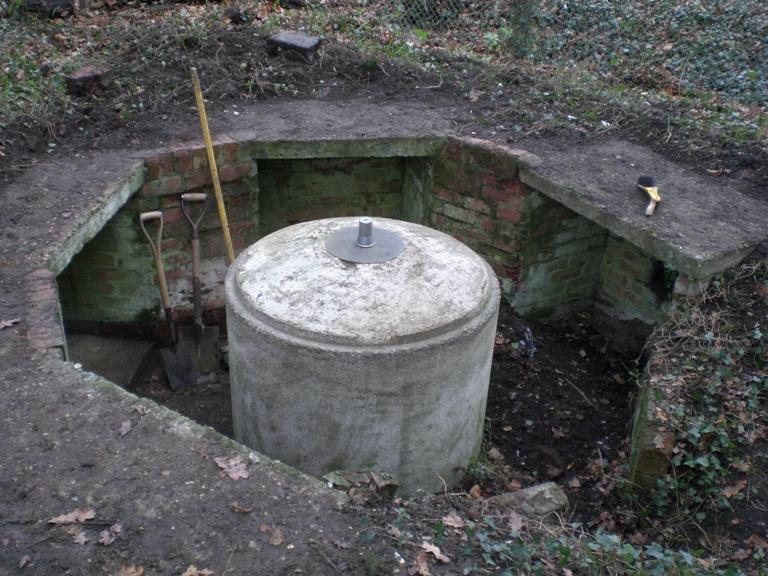 Spigot Mortar Emplacement Rescue Archaeology