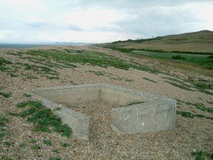 Vickers Machine Gun Open Emplacement