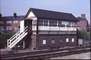ARP Signal Box Baguley Fold Junction