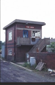 ARP Signal Box Town Green Ormskirk