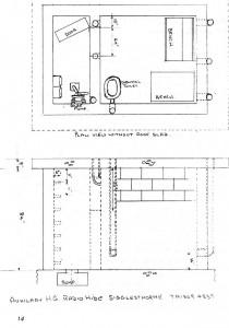 Auxilary Unit Radio Bunker Plan