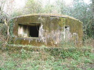 GHQ Line 'B' Drum Pillbox @ Shalford, Surrey NGR: TQ 012474 Photograph by Tim Denton