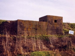'Split Level Pillbox' On The Banks Of The Boston Haven