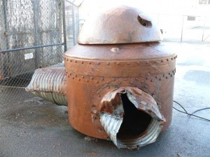 US Cast Metal Turret