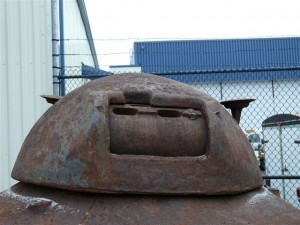US Cast Metal Turret