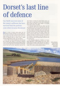 DORSET'S LAST LINE OF DEFENCE