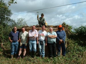 The Pillbox Study Group Restoration Team!