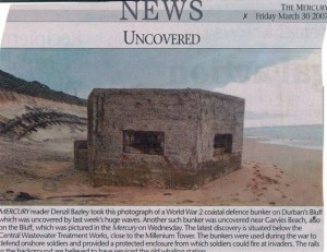 DURBAN BLUFF PILLBOX