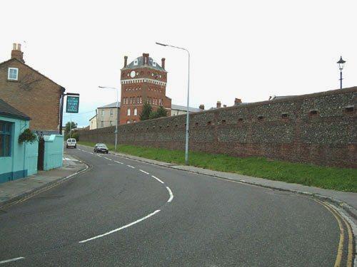 Eastney Barracks Loopholed Wall