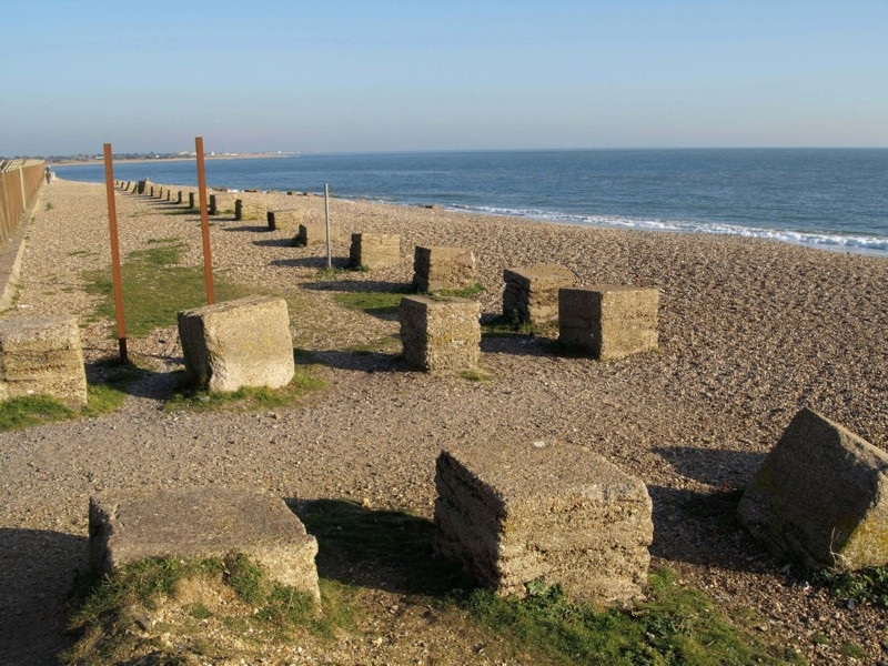 Eastney Anti Tank Block Beach Defences