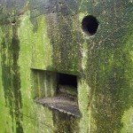 EAST STOKE TYPE 22 PILLBOX VENTILATON HOLE