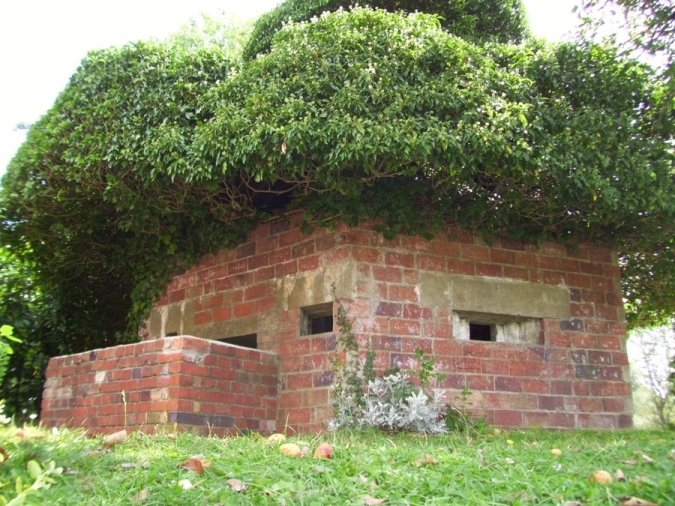 A Preserved Type 22 Pillbox in Surrey
