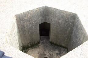 Access to open Anti-Aircraft section is through open door in corner of centre wall.