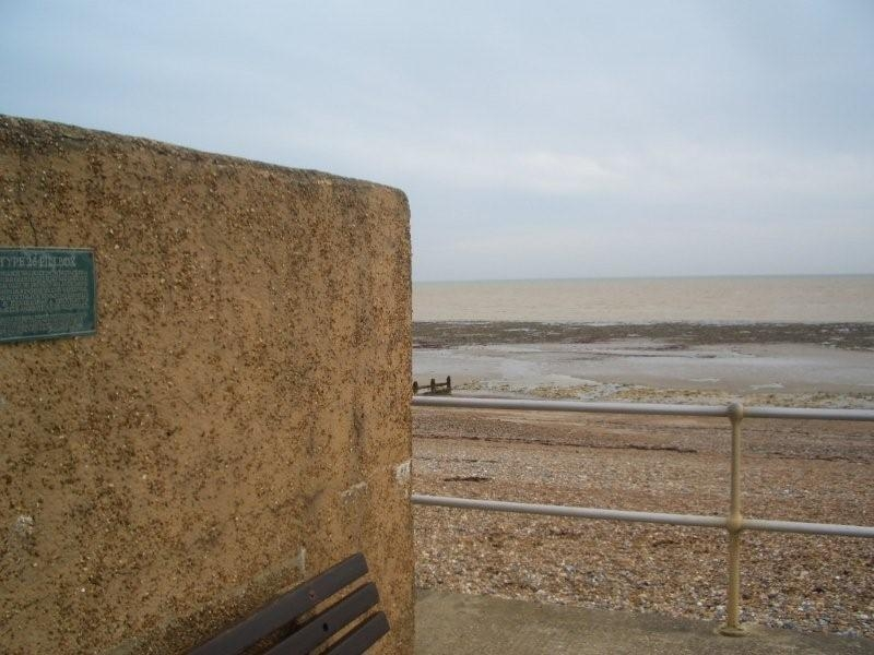 Sea view from the Pillbox