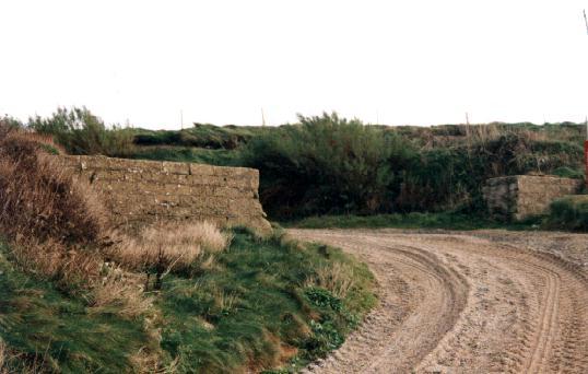 Anti-Tank Wall Grid Ref: SW 6541 – 2236