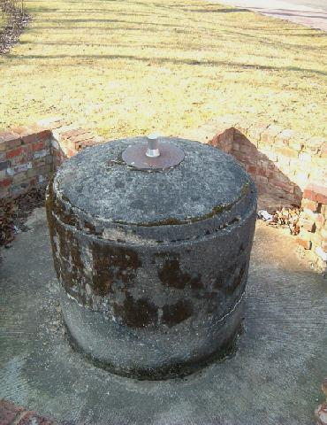 Elvetham Heath's Spigot Mortar Base