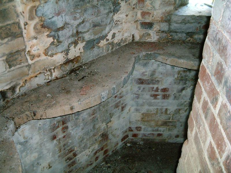 Inside wall detail