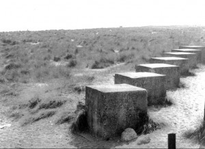 Winterton On Sea, Norfolk, WWII Anti-Tank Blocks Circa 1970/1980