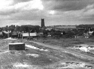 Winterton On Sea, Norfolk Circa 1940s. WWII Pillbox On South Side Of The Road To The Beach.