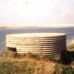 Type 25 Pillbox Along The Fleet. Opposite Chesil Beach SY 620-801 c1983