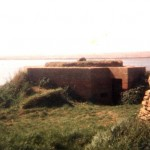Pillbox With 'Protected Entrance' Along The Fleet. Opposite Chesil Beach SY 627-799 c1983