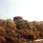 Type 25 Pillbox Along The Fleet. Opposite Chesil Beach SY 620-801 c1983