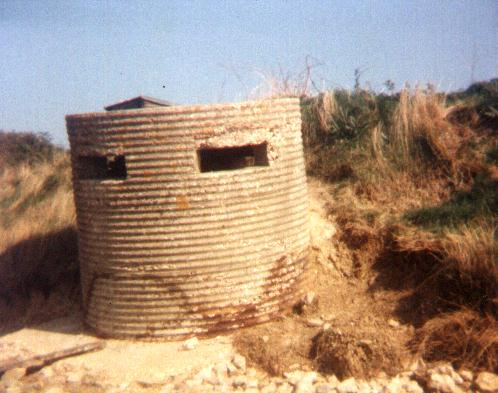 Type 25 Pillbox near Weymouth .SY 637-791 c1983