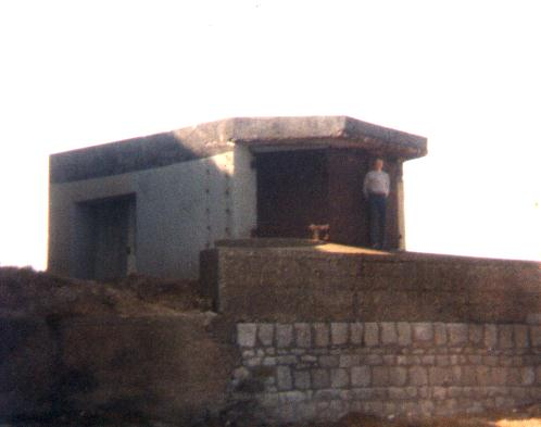 Gun Or Searchlight Emplacement Weymouth SY 687-788