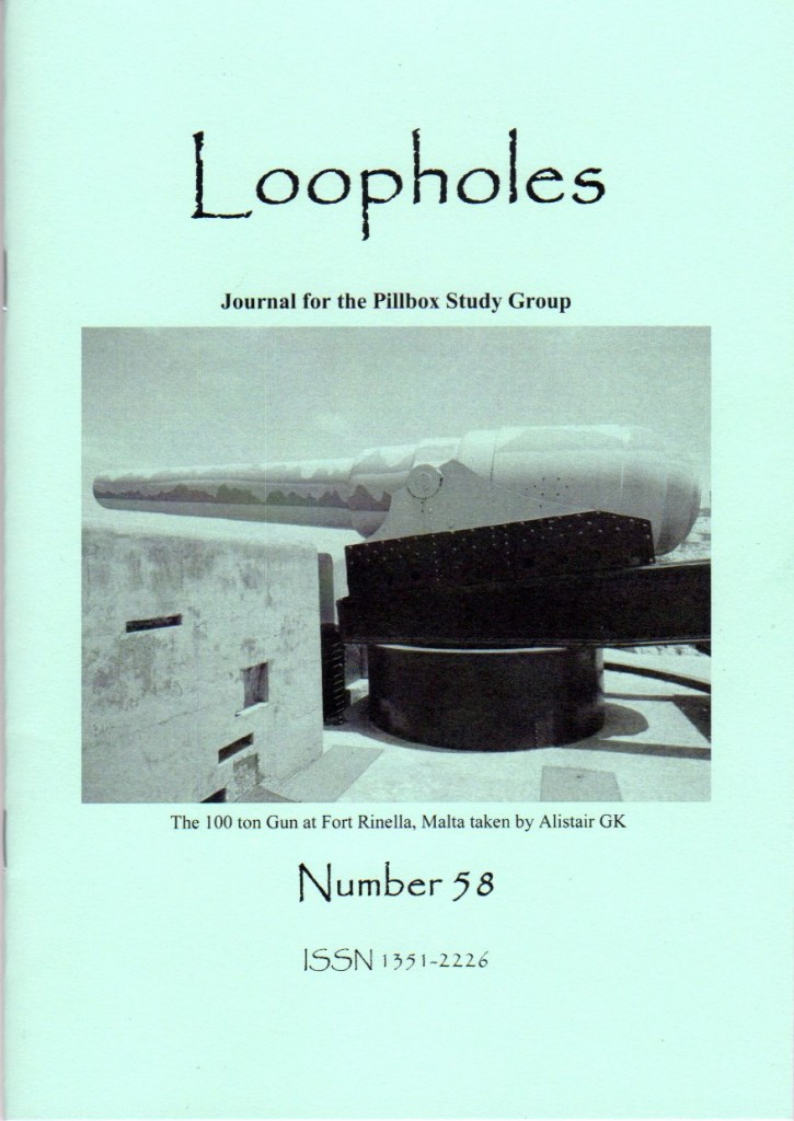 Loopholes Issue 58