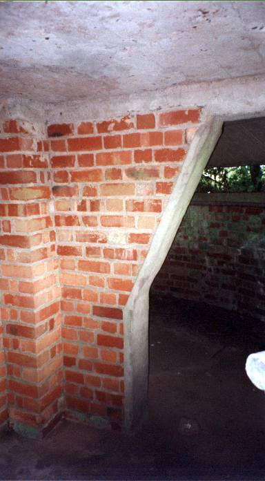 Mushroom Pillbox Interior