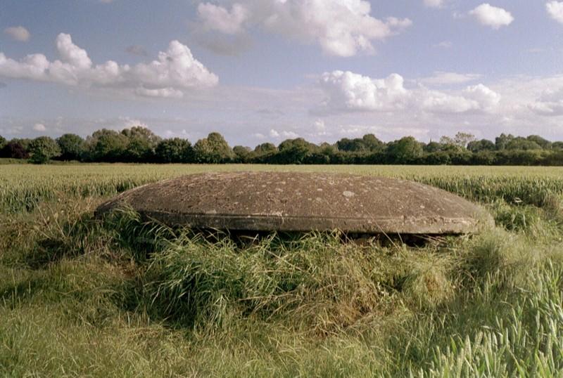 F.C. Mushroom Pillbox, RAF Grafton Underwood