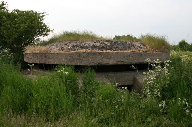 F.C. Mushroom Pillbox, RAF Burnaston.