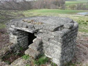 Beehive Pillbox, Alnwick, Northumberland. Photo S. Lewins