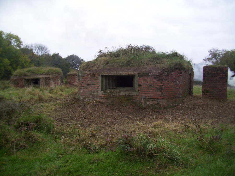Vickers Machine Gun Emplacement.