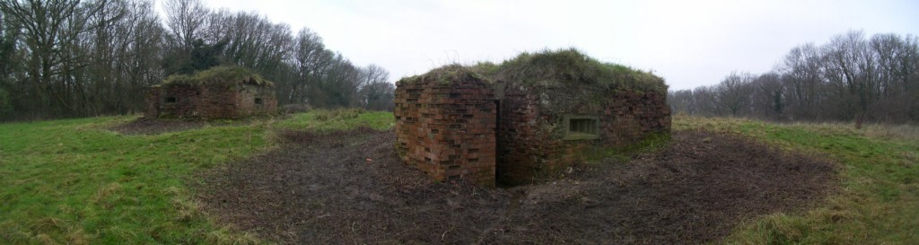 Ewshott Vickers Machine Gun Emplacements